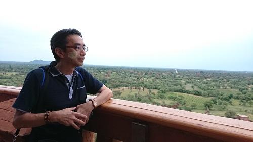 ビューイングタワーから見るバガン遺跡はまさに絶景!