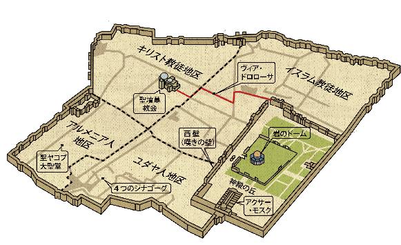 3-エルサレムmap