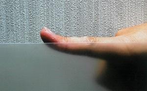 秋元さん指の反り