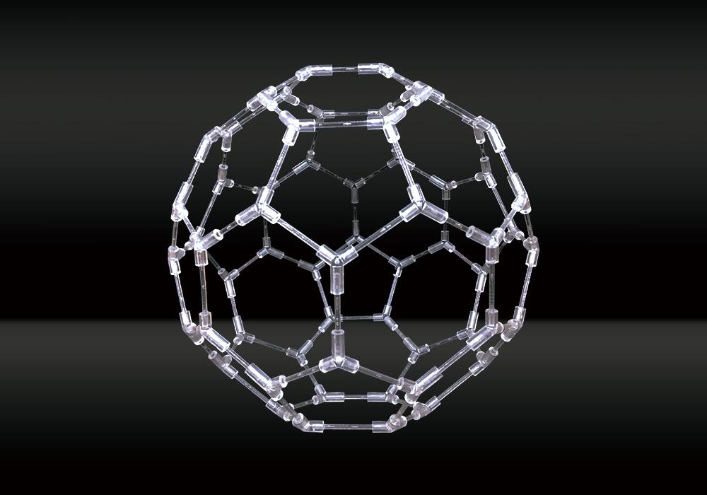 ▲ バッキーボール(直径約25cm)