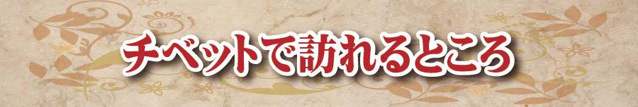 チベットで行i
