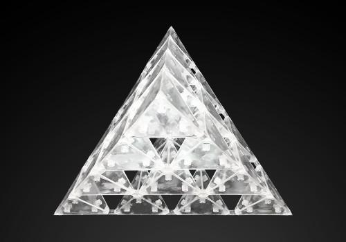ゴッドピラミッドを上から見た画像