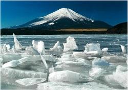 御神渡り富士