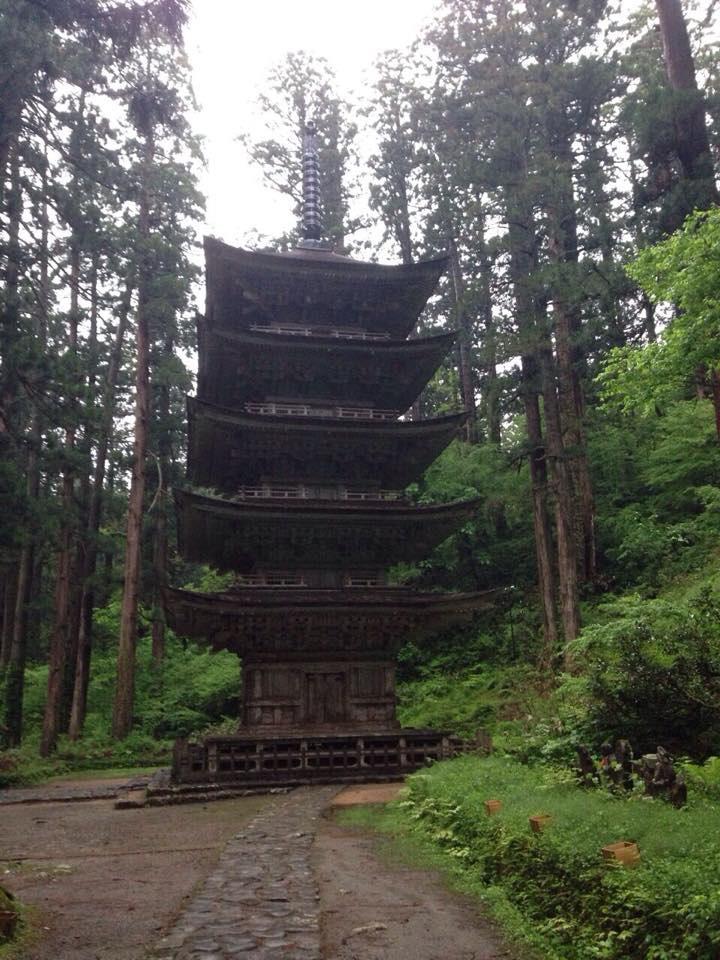 羽黒山 五重塔(国宝)