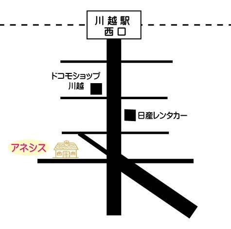 アネシス地図