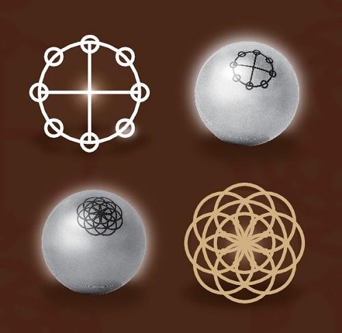 カタカムナ賢者の石 図柄デザイン