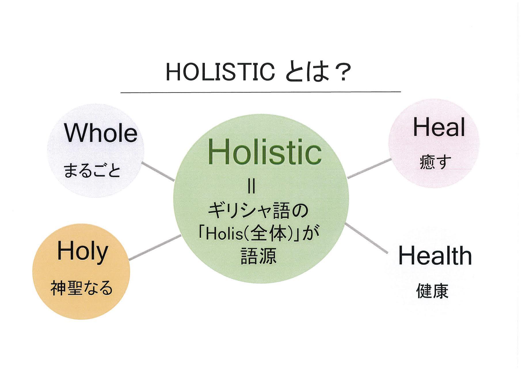 ホリスティックとは?